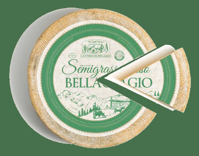 formaggio semigrasso bellagio